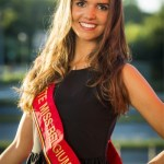 Romanie Schotte is one fo the Miss Belgium 2017 contestant