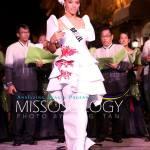 Miss Brazil-Raissa Santana during terno fashion show