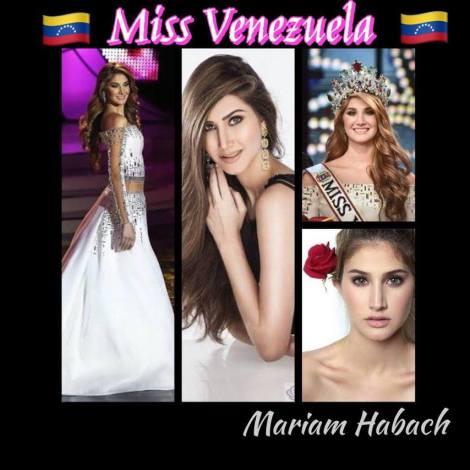 Miss Venezuela, Mariam Habach
