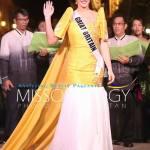 Miss Great Britain-Jaime-Lee Faulkner during terno fashion show