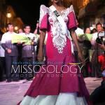 Miss USA-Deshauna Barber during terno fashion show