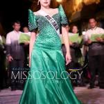 Miss Bulgaria-Violina Ancheva during terno fashion show