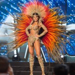 Miss Argentina,Estefania Bernal during Miss Universe 2016 National Costume presentation