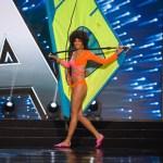 Miss Aruba ,Charlene Leslie during Miss Universe 2016 National Costume presentation