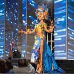 Miss Dominican Republic,Sal Garcia during Miss Universe 2016 National Costume presentation