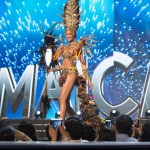 Miss Jamaica,Isabel Dalley during Miss Universe 2016 National Costume presentation