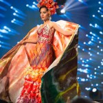 Miss Mauritius,Kushboo Ramnawaj during Miss Universe 2016 National Costume presentation