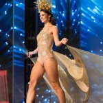 Miss Namibia,Lizelle Esterhuizen during Miss Universe 2016 National Costume presentation