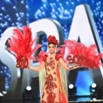 Miss Spain,Noelia Freire during Miss Universe 2016 National Costume presentation