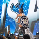 Miss USA,Deshauna Barber during Miss Universe 2016 National Costume presentation