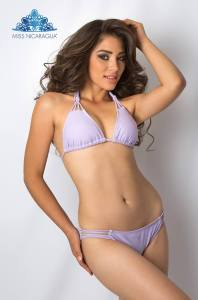 Kathering Medina is one of the contestants of Miss Nicaragua 2017 pageant