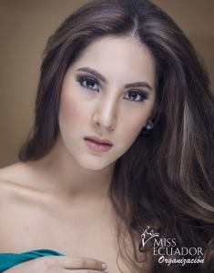 Bianca Benavides from Guayaquil is one of the contestants of Miss Ecuador 2017