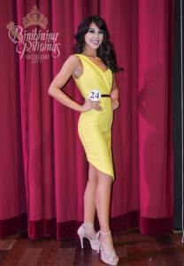 Dindi Joy Pajares is one of the 40 contestants at Binibining Pilipinas 2017