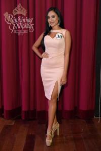 Mae Liezel Ramos is one of the 40 contestants at Binibining Pilipinas 2017