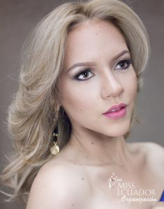 Corina Zambrano fromTosagua is one of the contestants of Miss Ecuador 2017
