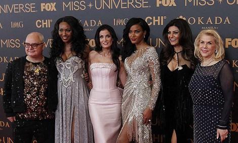 Miss Universe 2016 Judges