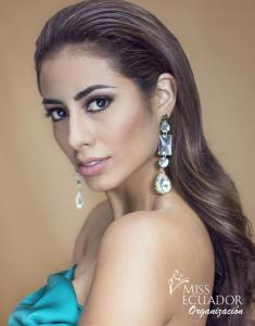Yalena Avilés from Vinces is one of the contestants of Miss Ecuador 2017