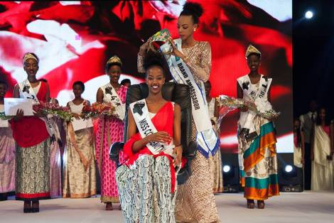 Elsa Iradukunda is crowned as Miss Rwanda 2017
