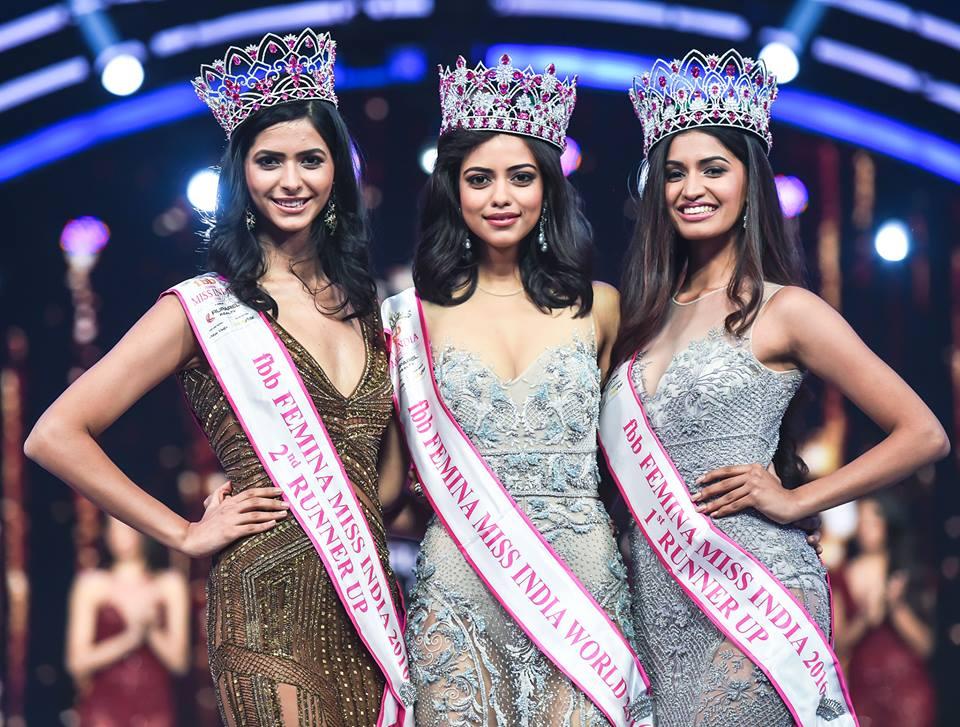 Who will succeed (L-R) Pankhuri Gidwani, Priyadarshini Chatterjee and Sushruthi Krishna as the new Femina Miss India trio?meet the contestants