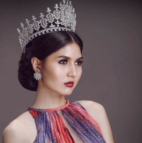 Zun Than Sin is crowned as Miss Universe Myanmar 2017