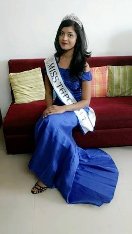 Vrushali Gaurkar is Miss TGPC 2017