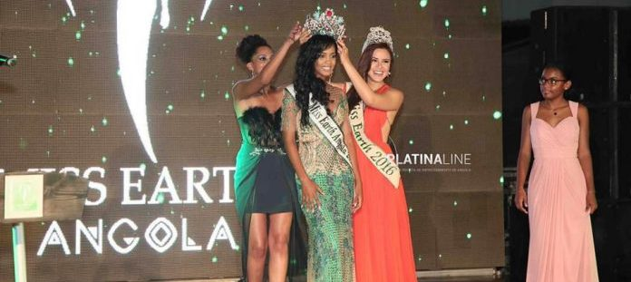 Emerlinda Martins crowned Miss Earth Angola 2017
