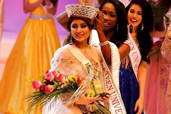 Srishti Kaur from India wins Miss Teen Universe 2017