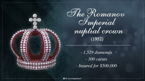 The Romanov Imperial nuptial crown