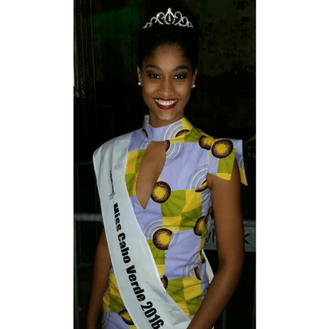 Cristilene Pimienta is Miss World Cabo Verde 2017