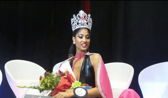 Cristilene Pimienta is Miss World Cabo Verde 2017