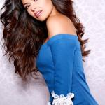 Miss Maryland, Adrianna David during official photo for Miss USA 2017 pageant