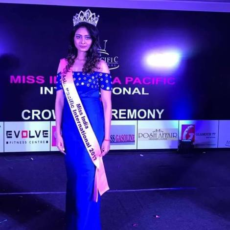 Sonika Roy is Miss India Asia Pacific International 2017