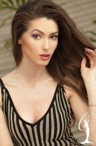 Arvenola Spaho is a contestant at Miss Universe Albania 2017