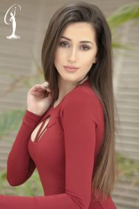 Emanuela Thana is a contestant at Miss Universe Albania 2017