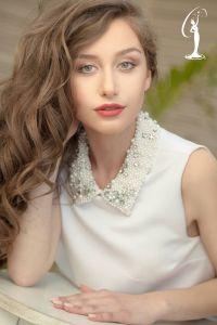 Kristina Delia is a contestant at Miss Universe Albania 2017