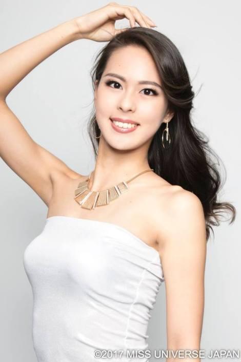 Miss Universe Japan 2017,Momoko Abe from Chiba