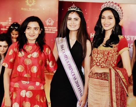 Pooja Sharma, Miss TGPC Elite 2016, wins fbb Campus Princess Lucknow 2018