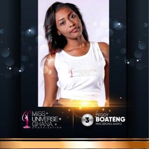 Peggy Boateng is representing Brong Ahafo at Miss Universe Ghana 2017