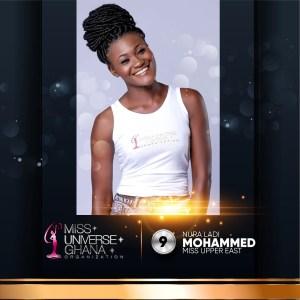 Nura Ladi Mohammed is representing Upper East at Miss Universe Ghana 2017