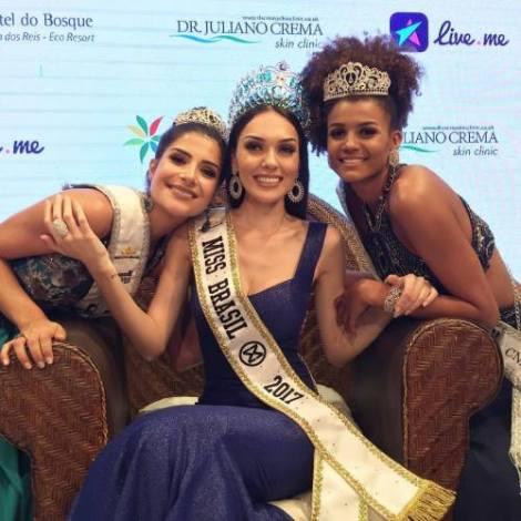 Gabrielle Vilela from Rio de Janeiro is Miss World Brazil 2017