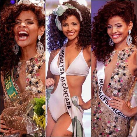 Monalysa Alcantara is Miss Universe Brazil 2017