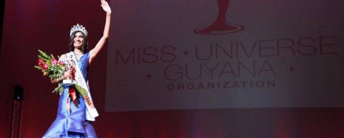 Rafieya Husain is Miss Universe Guyana 2017