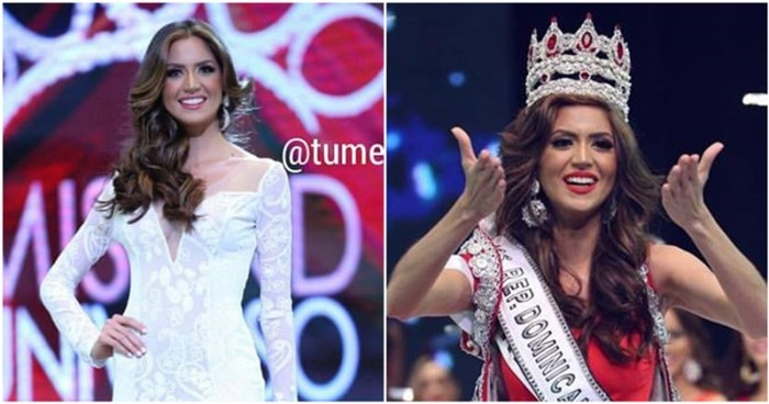 Carmen Isabel Muñoz Guzmán crowned Miss Universe Dominican Republic 2017