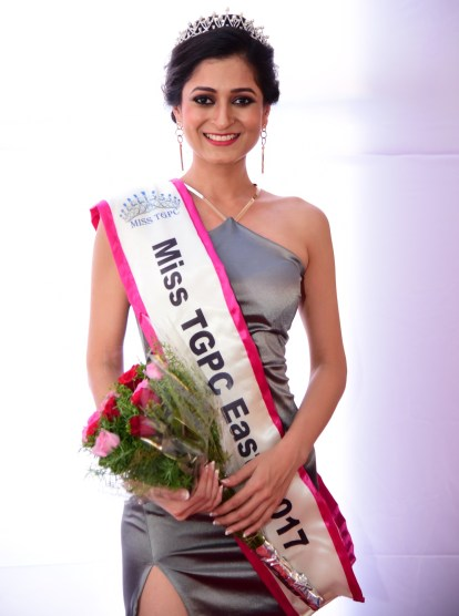 Sakshi Gupta crowned as Miss TGPC East 2017