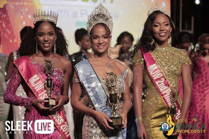 Solange Sinclair crowned as Miss World Jamaica 2017