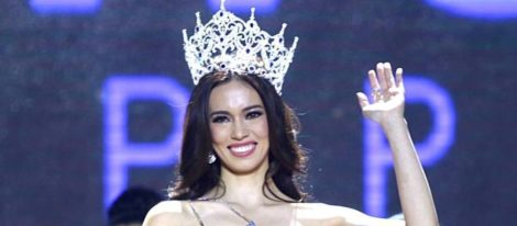 Laura Lehmann win Miss World Philippines 2017