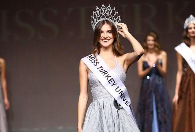 Aslı Shumen crowned as Miss Universe Turkey 2017
