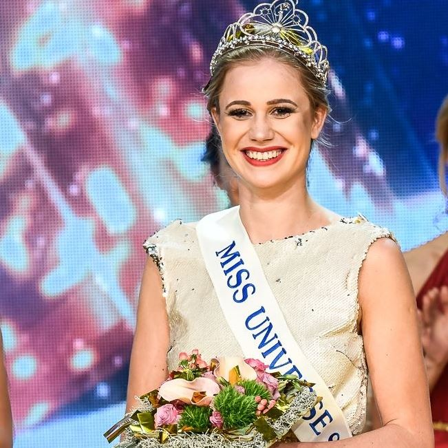 Emina Ekic is Miss Universe Slovenia 2017