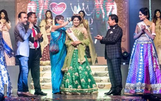 Jannatul Nayeem Avril crowned as Miss World Bangladesh 2017