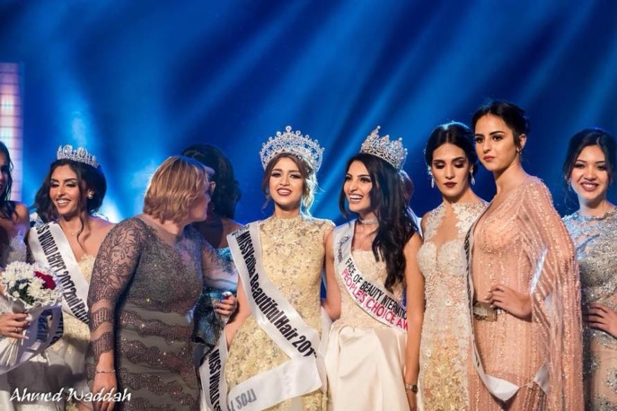 Farah Shaaban was crowned as Miss World Egypt 2017